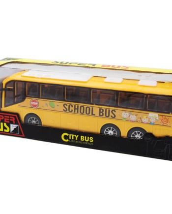 Igračka autobus na frikciju. Ovaj gradski autobus na frikciju savršeno će se uklopiti u djetetovu kolekciju vozila.