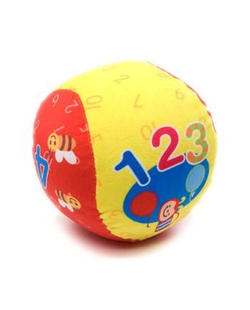 Mekana lopta sa zvoncem 13cm. Ova mekana lopta idelana je za igru u kući.