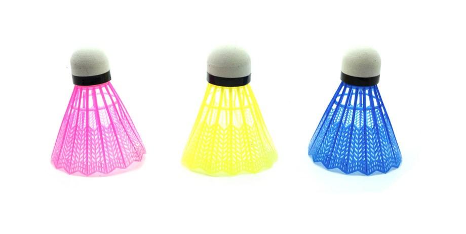 Badminton Loptice 3/1, Loptice za badminton. Loptice za rekreativni badminton. 3 komada u pakiranju.