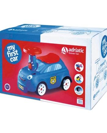 Guralica za dječake, plavi - moj prvi auto