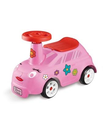 Guralica za djevojčice, roza - moj prvi auto