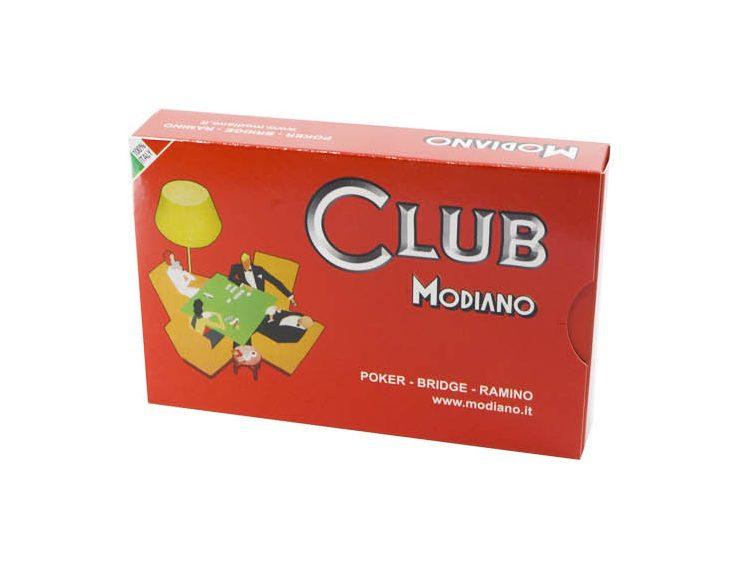 Igraće karte za poker i bridge Modiano. Kvalitetne plastificirane karte za poker, 100% made in Italy. Dva špila ( crveni i plavi ). Za sve ljubitelje kartaških igara.