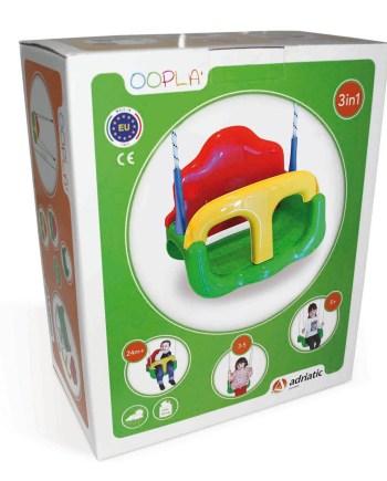 Dječja plastična ljuljačka, 3u1, kupnja online