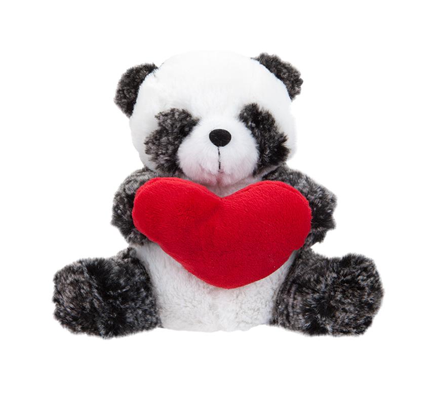 Plišana Panda 20cm sa srcem