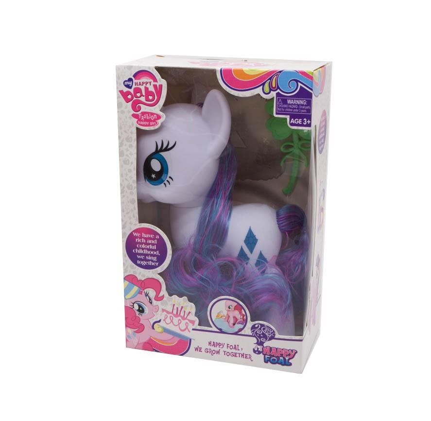 Pony Happy Baby 22cm, sa grivom za češljanje. Uživaj satima češljajući grivu sa priloženom četkom