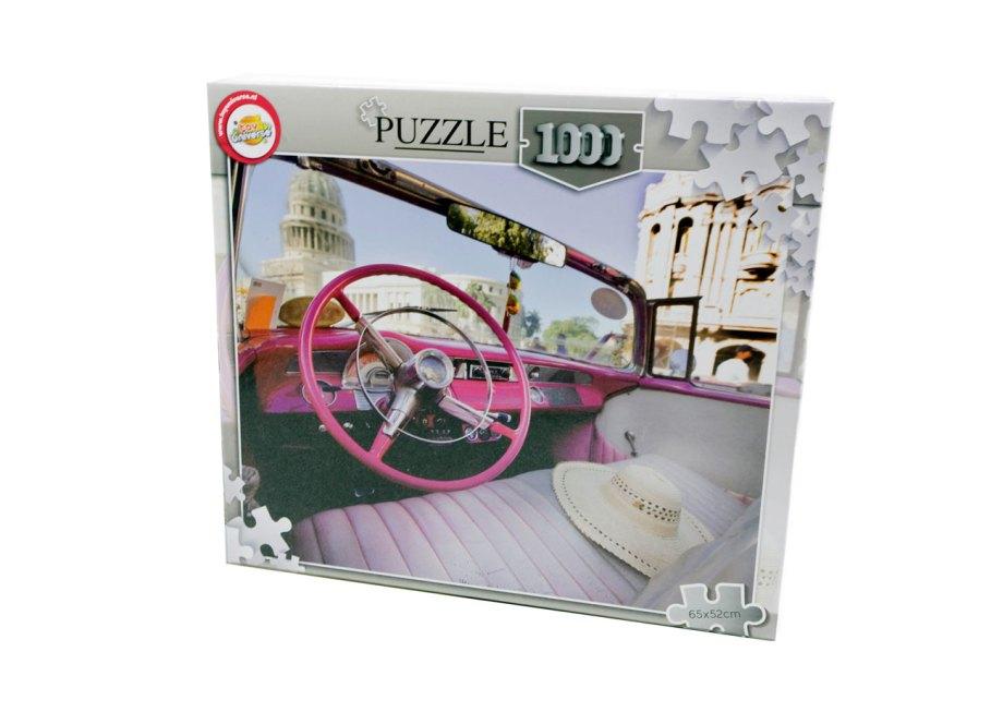 puzzle 1000pcs 65x52cm auto volan