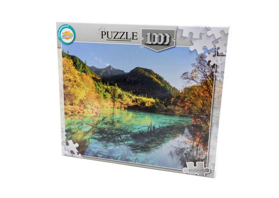 puzzle 1000pcs 65x52cm priroda