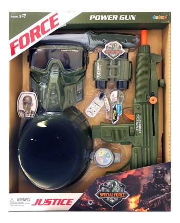 vojni-set-igracka-kaciga-maska-mitraljez-dalekozor-kompas-noz-znacka
