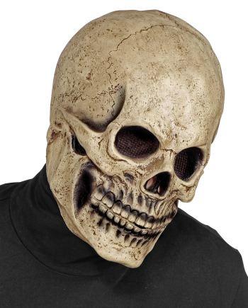 MASKA Kostur Full Head, maska Kosturska glava je maska namijenjena odraslima. Savršena je za maskiranje, lude partije, proslave Halloweena ili karnevalske povorke.