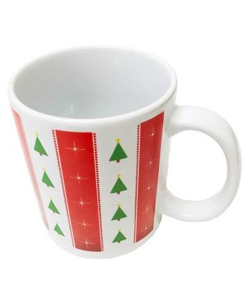 Šalica keramička Sob božićna šalica, 9cm. Proizvod dolazi u 4 različita motiva.