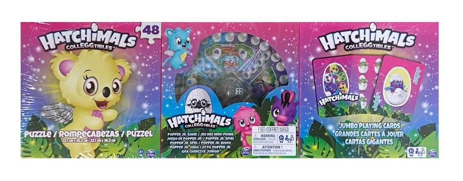 Društvena Igra Hatchimals 3u1, Puzzle, Čovječe ne ljuti se, Karte za igru. Popularni Hatchimalsi dolaze u prekrasnoj društvenoj igri 3u1.