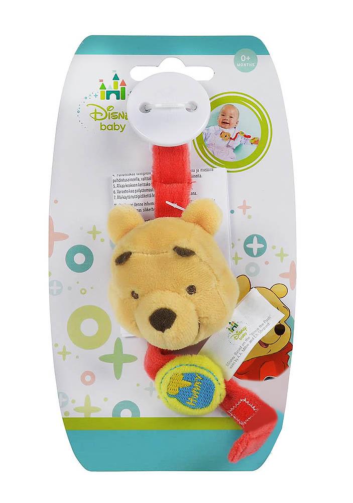 Držač za dudu Winnie the Pooh, 0+. Simpatični medo Winnie od sada će uveseljavati i Vašu bebicu.