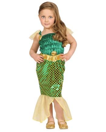 Dječji kostim za Sirenu, veličina za 1-2 i 2-3 godine. Savršen je za igru, lude partije ili karnevalske povorke.