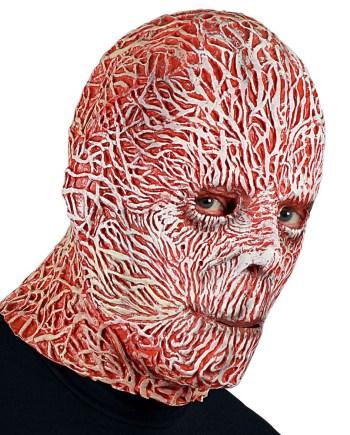 Karnevalska maska Horor, maska za cijelu glavu je maska namijenjena odraslima. Savršena je za maskiranje, lude partije, proslave Halloweena ili karnevalske povorke.