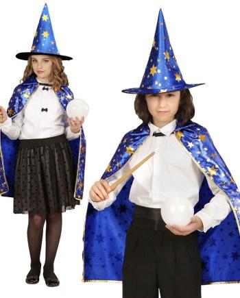 Kostim za djecu Čarobnjak, veličina za dob od 7 godina na više. Savršen je za igru, lude partije ili karnevalske povorke.