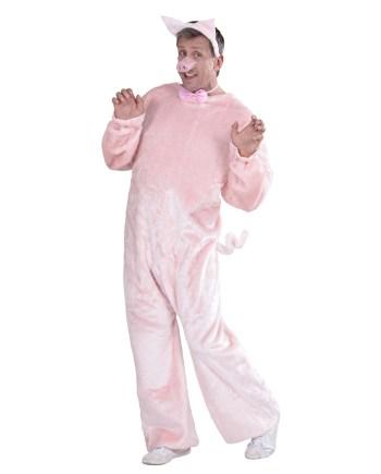 Kostim za odrasle Prase. Karnevalski set Prase je kostim namijenjen odraslima. Savršen je za lude partije, proslave Halloweena ili karnevalske povorke.