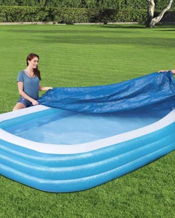 Pokrivač za bazene, Navlaka za bazen 305x183. Ovaj pokrivač za bazene odličan je dodatak za vaš vrtni bazen.