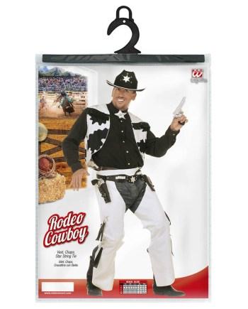 Kostim Cowboy Rodeo za odrasle, veličina L, karnevalski kostim. Savršen je za lude partije, proslave Halloweena ili karnevalske povorke.