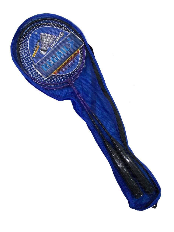 Badminton reketi, Komplet za badminton sa 2 loptice u torbici. Badminton reketi komplet sa 2 reketa i 2 loptice savršen je za rekreativne igrače, za igru sa prijateljima na otvorenom.