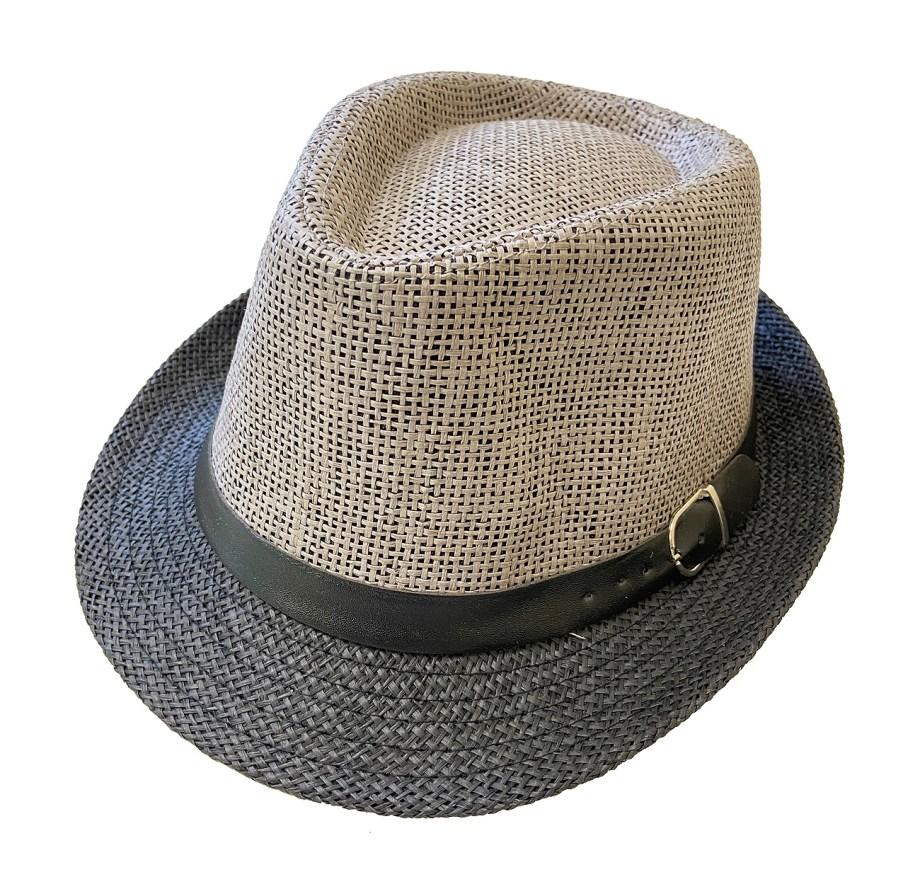 Šešir Alpineto sa kožnom trakicom, dvobojni Alpineto šešir. Prekrasni, lagani ljetni šešir sa trakicom, tipa Alpineto. Izrađen je od papira sa unutarnjom podstavom od poliestera.