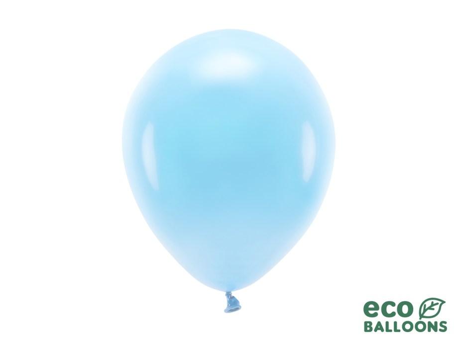 Baloni plavi10 komada veličina 26cm. Baloni su proizvedeni od prirodnog biorazgradivog lateksa, sigurni su i laboratorijski ispitani.