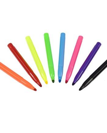 Markeri raznobojni, 8 Jumbo raznobojnih flomastera. U pakiranju se nalazi 8 markera u raznim bojama.