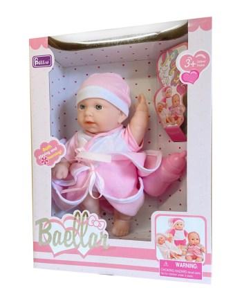 Beba lutka sa dodacima, 3 različite. Sa ovim kompletom za igru Vaše dijete će provesti sate igrajući se mame, pazeći i mazeći svoju bebu.