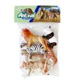 Divlje životinje u vrećici, gumene životinje 6 komada. U vrećici se nalaze prekrasne gumene životinje veličine cca. 10 centimetara.