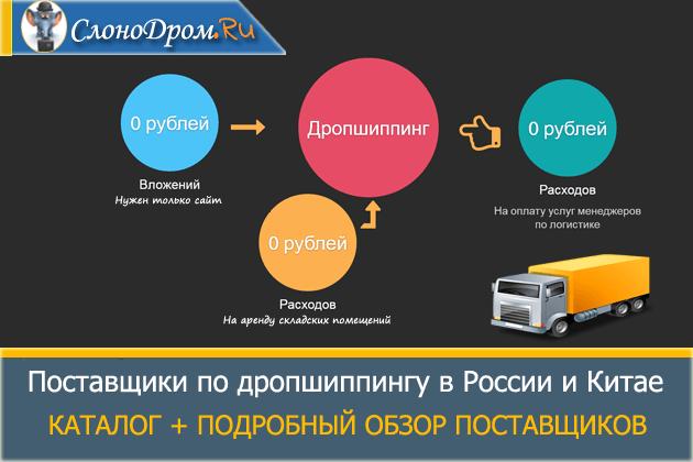 7cd4f074f23 Дропшиппинг поставщики для интернет магазина в России - ТОП 700