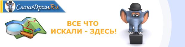 """Карта сайта """"СлоноДром.Ру"""""""