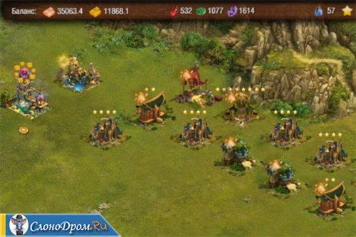 Пример заработка на игре Elven Gold