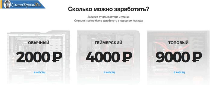 Программа для заработка на видеокарте биткоинов