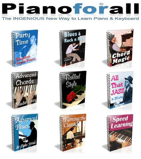 Robin Hall PianoForAll Reviews