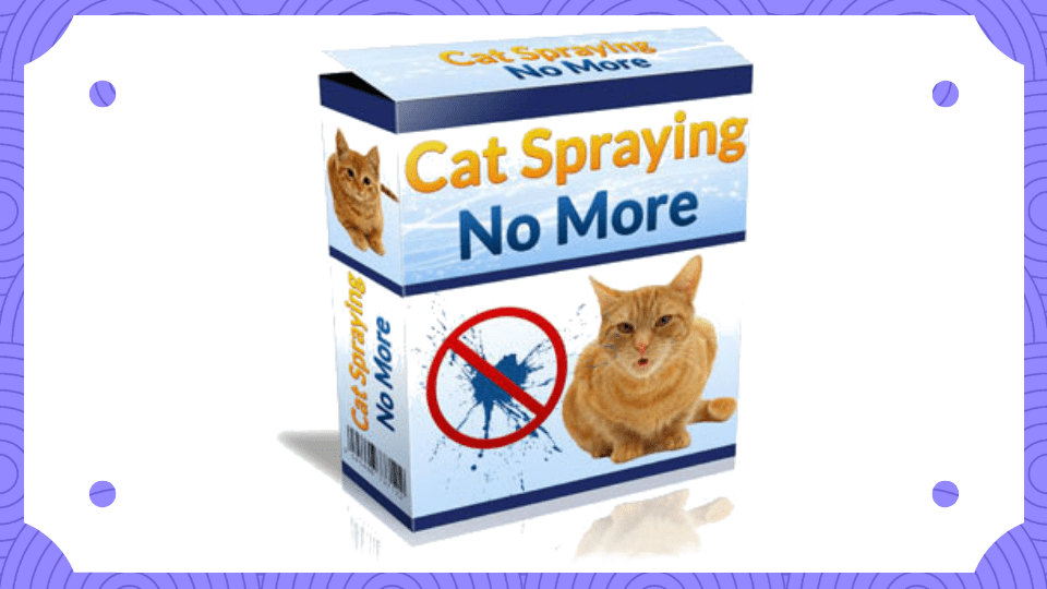 Cat Spraying No More by Sarah Richards