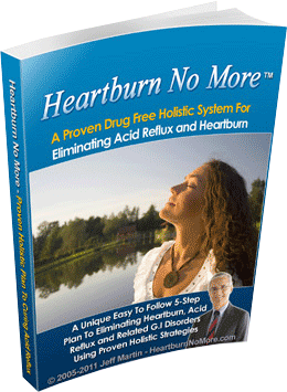 Jeff Martin Heartburn No More Reviews