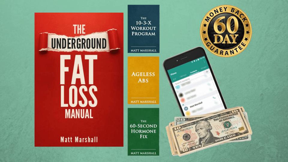 The Underground Fat Loss Manual by Matt Marshall