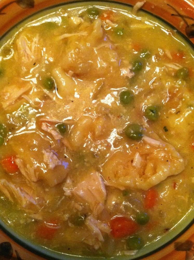 Chicken and Dumplings (3/3)