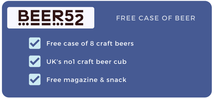 FREE MONTH OF BEER 52