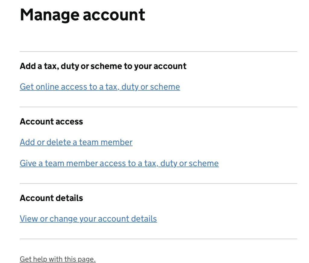 HMRC tax change of address