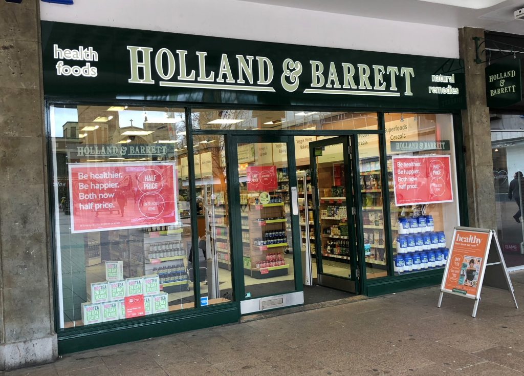 How to Complete Your Holland & Barrett Change of Address