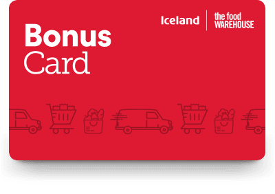 how to update iceland bonus card address