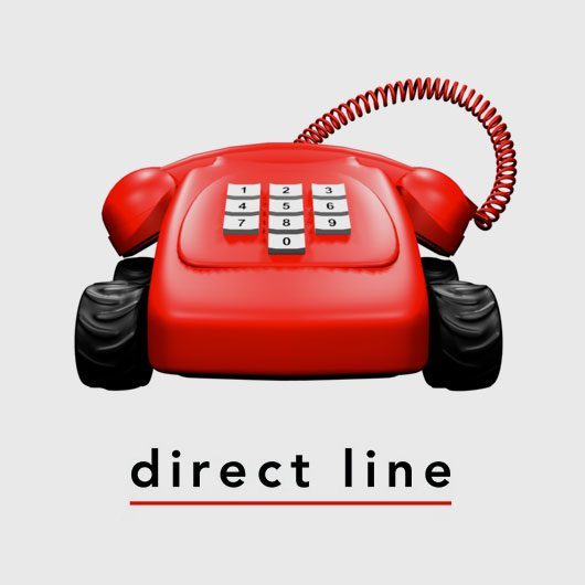 direct line change of address