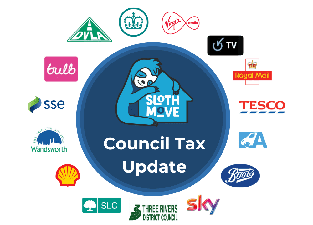 council tax change of address online