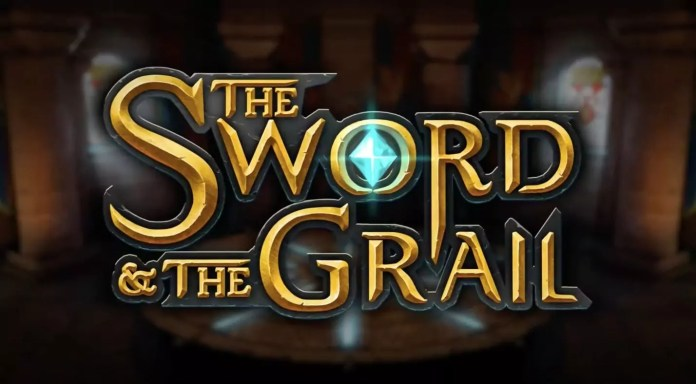 The Sword And The Grail by PlayNGo Logo