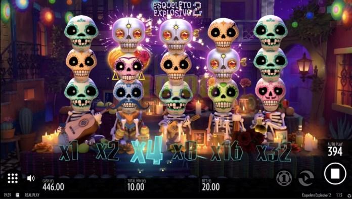 Esqueleto Explosivo 2 by Thunderkick Gameplay