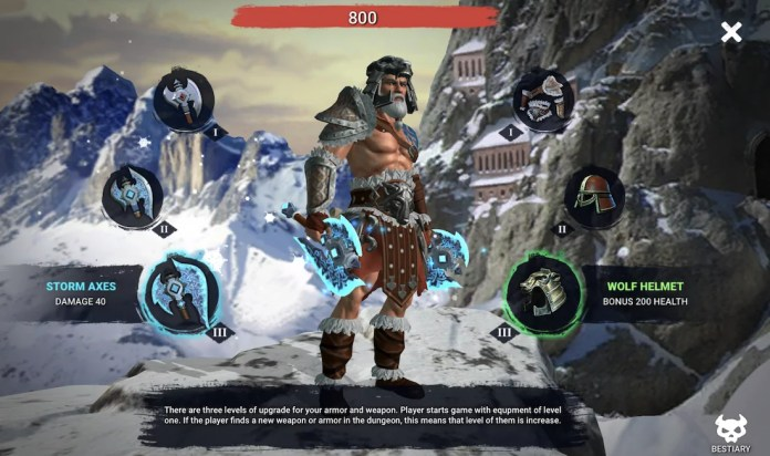 Dungeon Immortal Evil by Evoplay Entertainment Gameplay2