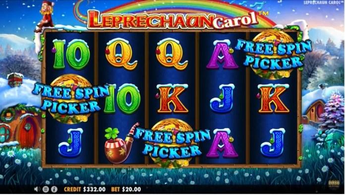 Leprechaun Carol by Pragmatic Play Gameplay