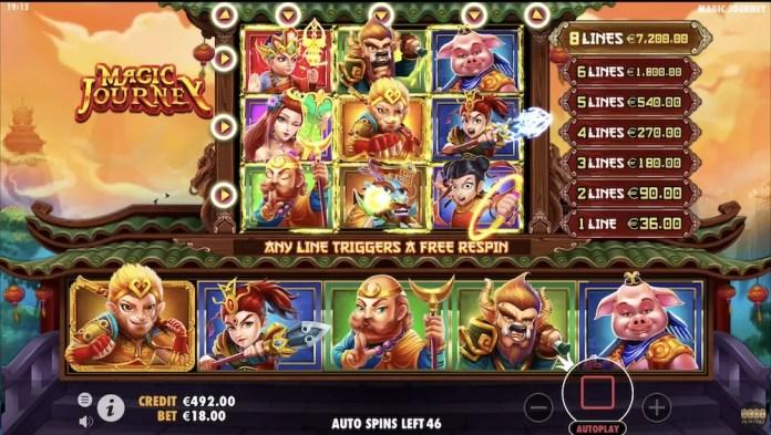 Magic Journey by Pragmatic Play Gameplay
