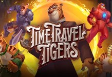 Time Travel Tigers by Yggdrasiil Logo