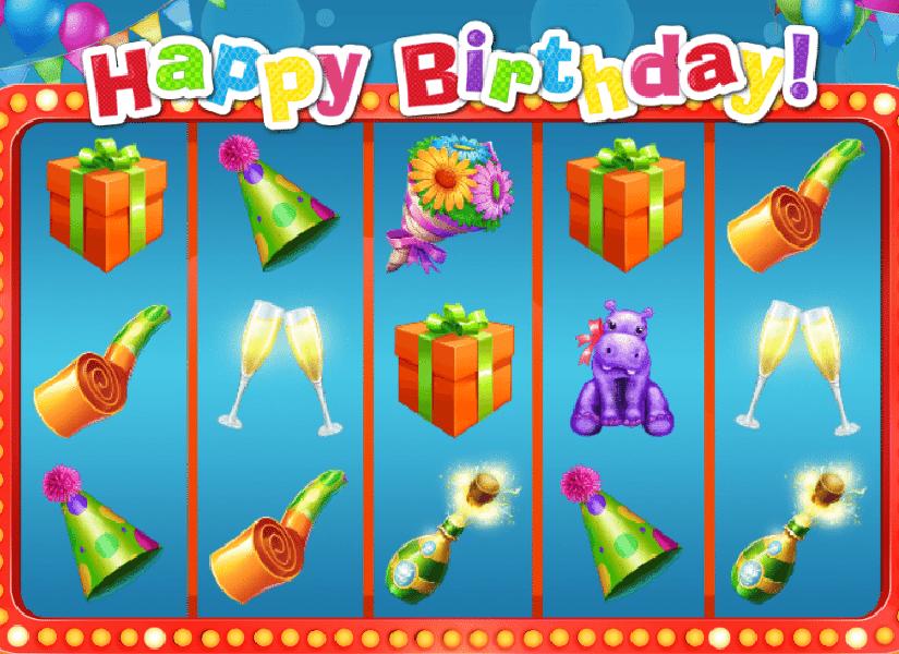 Happy Birthday Slot Machine Online Play Happy Birthday Free Slot